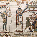 Halleys Comet Of 1066, Bayeux Tapestry by Science Source