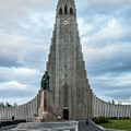 Hallgrimskirkja - The Largest Church In Iceland by Venetia Featherstone-Witty