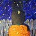 Halloween Cat by Elizabeth Arthur