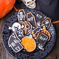 Halloween Cookies by Edward Fielding