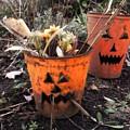 Halloween Faces by Sylvia Pimental