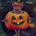 Halloween Hog by Nadine Rippelmeyer