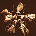 Halloween Horror Dolls On Dark Background by Jorgo Photography - Wall Art Gallery