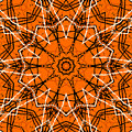 Halloween Kaleidoscope 12 by Kristalin Davis