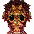 Halloween Mask 01214 by Rafael Salazar