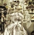 Halloween Mrs Bones The Bride Vertical by Thomas Woolworth