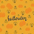 Halloween Pumpkins by Daria Pakhomova
