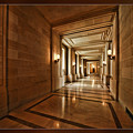 Hallway In City Hall Sf by Blake Richards