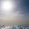 Halo Over Atlantic Ocean by Jouko Lehto