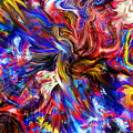 Halos And Passions. by Abstract Angel Artist Stephen K