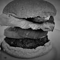 Hamburger And Potato Salad 4 by Christopher White