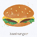Hamburger by Linda Woods