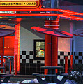 Hamburgs-fries-colas by Robert Pearson