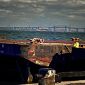 Hamilton Harbor- Pier 8 by Leslie Montgomery