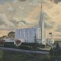 Hamilton New Zealand Temple by Jeff Brimley