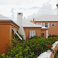 Hamilton Street Bermuda by George Oze