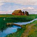 Hamme Huette by Fritz Mackensen