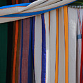 Hammocks In Colored Patterns by Robert Hamm