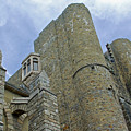 Hammond Castle Detail - Gloucester Ma by Suzanne Gaff