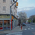 Hampshire Cafe Hampshire Street Cambridge Ma by Toby McGuire