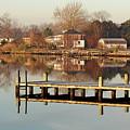 Hampton Virginia Sunrise by Brett Winn