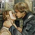 Han And Leia by Dori Hartley