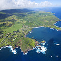 Hana Aerial by Ron Dahlquist - Printscapes