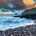 Hana Bay Pebble Beach by Inge Johnsson