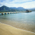 Hanalei Bay And Pier by Peter French - Printscapes