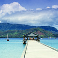 Hanalei Bay And Pier by Vince Cavataio - Printscapes