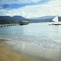 Hanalei Bay Outrigger by Peter French - Printscapes