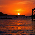 Hanalei Sunset by Mike  Dawson