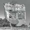 Hancock Gas Sign by Douglas Settle