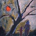 Hand In Hand Walk Under The Moon by Katt Yanda