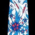 Hand Pinted Tie by Jordana Sands