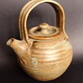 Hand Thrown Teapot by Jeff Townsend