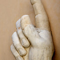 Hand With Pointing Index Finger. Statue Of Constantine. Palazzo Dei Conservatori. Capitoline Museums by Bernard Jaubert
