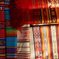Hand Woven Table Cloths by Robert Hamm