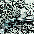 Handguns And Gears by Jorgo Photography - Wall Art Gallery