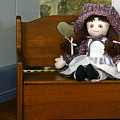 Handmade Cloth Doll by Sally Weigand