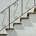 Handrail And Steps 1 by Wendy Wilton