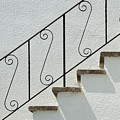 Handrail And Steps 2 by Wendy Wilton