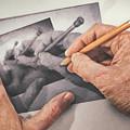 Hands Drawing Hands by Scott Norris
