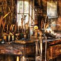 Handyman - Messy Workbench by Mike Savad