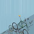 Hanging Bike by Liam Keating