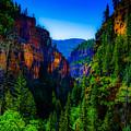 Hanging Lake Trail by Dean Arneson