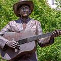 Hank Williams Statue - Cropped by Debra Martz