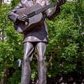 Hank Williams Statue - Montgomery Alabama by Debra Martz