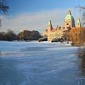 Hanover In Winter by Marc Huebner