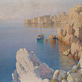 Hanzen, Alexei 1876-1937 A Cove In Dubrovnik by Adam Asar